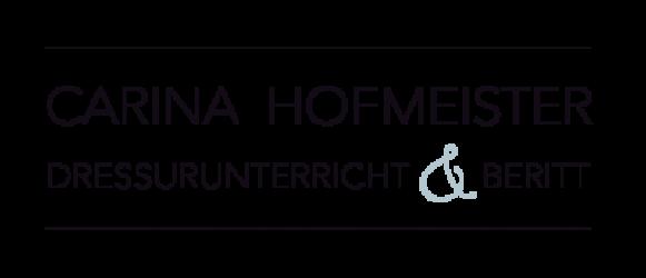 Carina Hofmeister